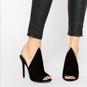 Kendall & Kylie   Stiletto 'Essie' Peep Toe Mule